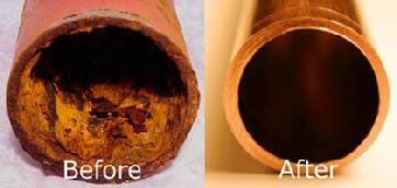 repipe before and after